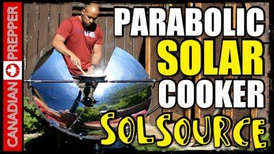coocking with the sun - Solar Coocker