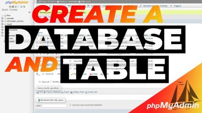 How To Create A MySQL Database