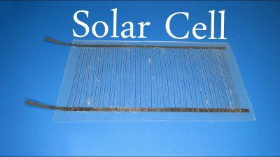 how to make solar cell