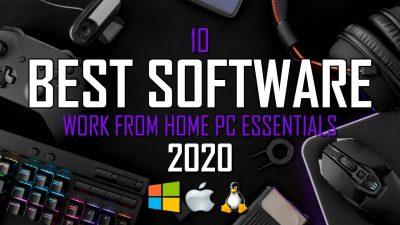 the best work from home software 2020