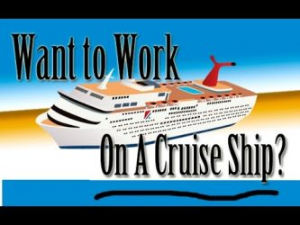 work on cruise ship