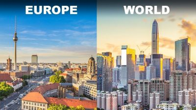 europe skyscapers