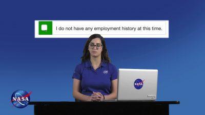 guide to apply for a NASA interrnship