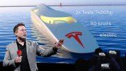 Tesla yacht