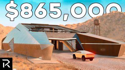 Elon Musk cyberhouse bunker