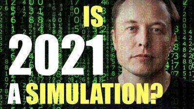 Elon Musk 2021 simulation