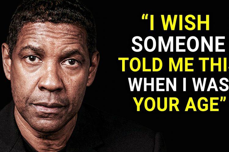 Denzel Washington's life advice