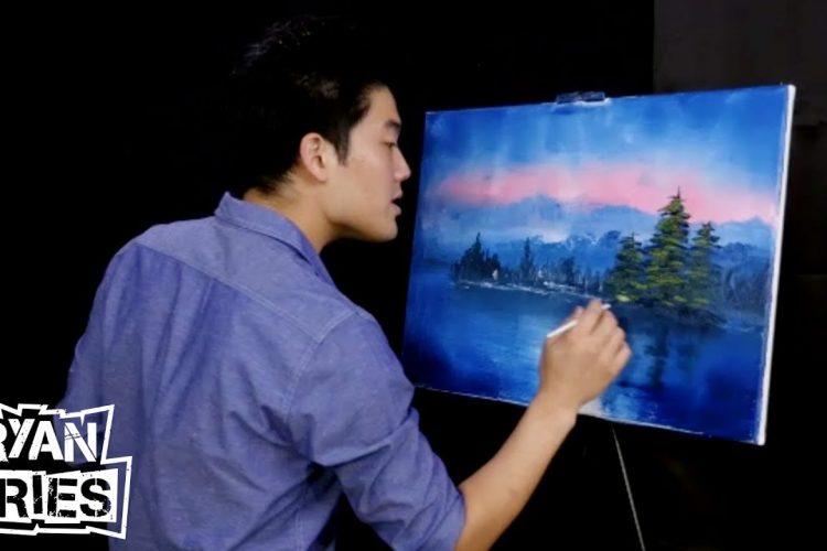 Ryan Tries painting