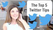 twitter tutorial - twitter tips