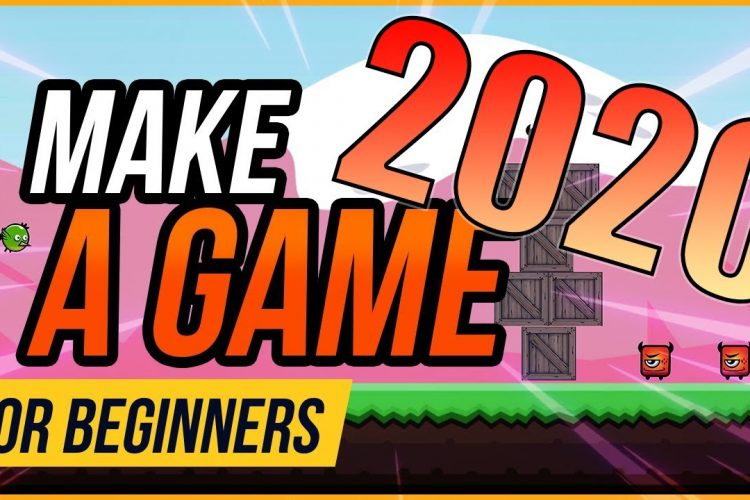 how to make a game - beginner tutorial