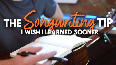 how to write song - song writing tip